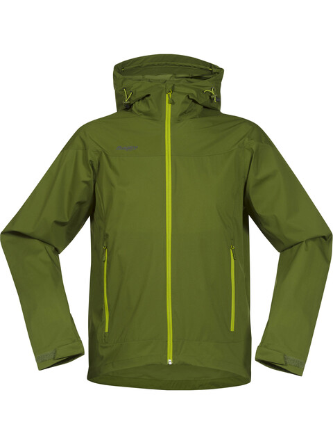 Bergans M's Microlight Jacket Green Tea/Lime